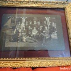 Fotografía antigua: GRUPO FINALES PRINCIPIOS SIGLO XX LONDRES FOTO BECKELLY. Lote 72763639