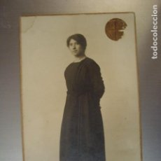 Alte Fotografie - ANTIGUA FOTOGRAFIA JOVEN VALENCIANA 1910 - 72857339