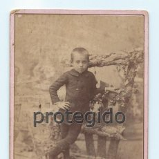 Fotografía antigua: D. CRISTOBAL GARCIA. CARTAGENA, MURCIA. FOTÓGRAFO FERNANDO DIAZ PONCE. PARRICA - 11. LORCA, MURCIA.. Lote 73461771