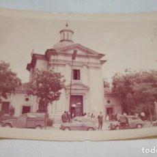 Fotografía antigua: FOTOGRAFIA ANTIGUA, HERMITA NUEVA DE SAN ANTONIO DE LA FLORIDA EN MADRID, AÑO 1965. Lote 73492735