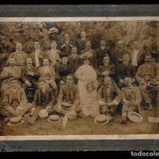 Fotografía antigua: FOTOGRAFIA DE GRUPO EN SANTIAGO DE CHILE.1906. Lote 73814239