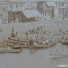 Fotografía antigua: PORT SAID. VISTAS CIUDAD. EGIPTO . DOS ALBÚMINAS GRAN FORMATO DE ZANGAKI. Lote 74082939
