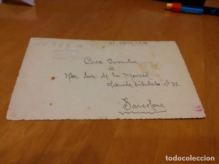 Fotografía antigua: BARCELONA - 1948 - CASA FAMILIA DE NTRA. SRA. DE LA MERCED - CAPILLA - AV. TIBIDABO, 31 - VER FOTO - Foto 3 - 74734431
