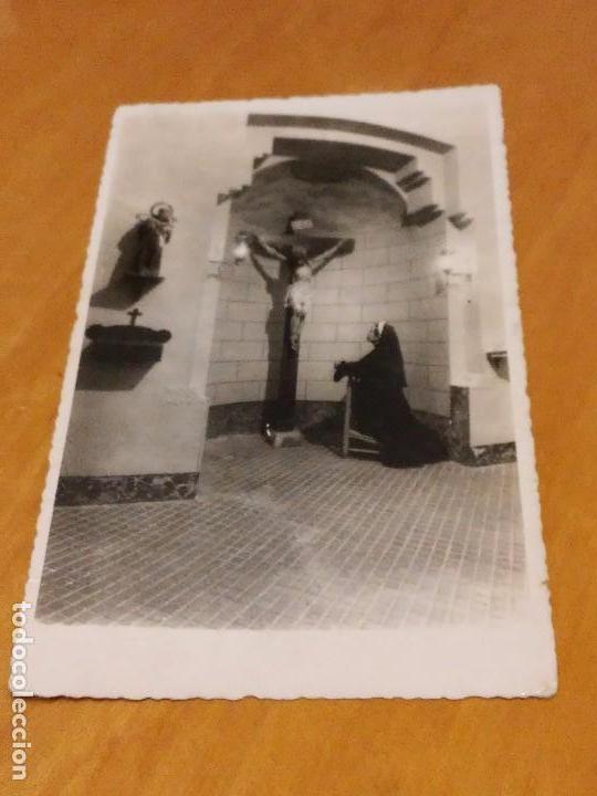 BARCELONA - 1948 - CASA FAMILIA DE NTRA. SRA. DE LA MERCED - CAPILLA - AV. TIBIDABO, 31 - VER FOTO (Fotografía Antigua - Albúmina)