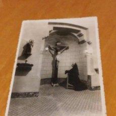Fotografía antigua: BARCELONA - 1948 - CASA FAMILIA DE NTRA. SRA. DE LA MERCED - CAPILLA - AV. TIBIDABO, 31 - VER FOTO. Lote 74734431