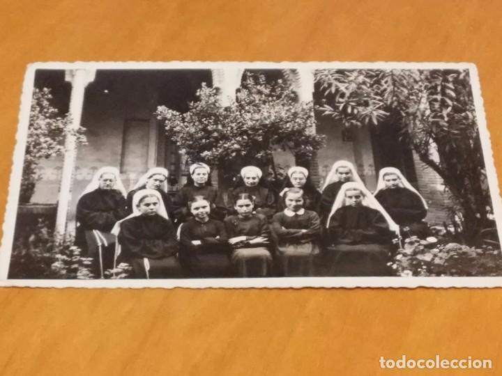 BARCELONA - 1948 - CASA FAMILIA DE NTRA. SRA. DE LA MERCED -CLAUSTRO - AV. TIBIDABO, 31 - VER FOTO (Fotografía Antigua - Albúmina)