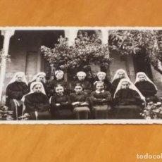 Fotografía antigua: BARCELONA - 1948 - CASA FAMILIA DE NTRA. SRA. DE LA MERCED -CLAUSTRO - AV. TIBIDABO, 31 - VER FOTO. Lote 74735395