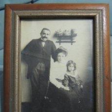 Fotografía antigua: FOTOGRAFIA 1906 ENMARCADA. Lote 76405647