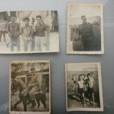 Fotografía antigua: LOTE 4 FOTOS ANTIGUAS. Lote 76540193