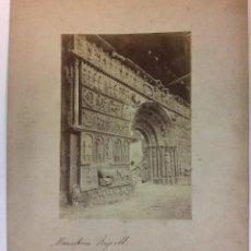 Fotografia antica: RIPOLL. MONASTERIO. SIGLO XIX. 17 X 12 CM.. Lote 77158525