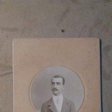 Fotografía antigua: FOTO ANTIGUA. SÁNCHEZ. ALICANTE, DEDICADA 1908. Lote 77504889