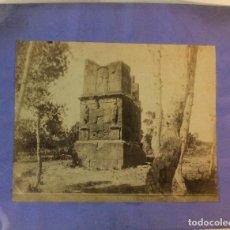 Fotografía antigua: TARRAGONA. TORRE DE LOS SCIPIONES. TORRES FOTÓGRAFO. 17 X 23 CM.. Lote 77736537