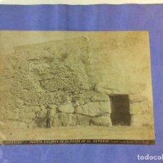 Fotografía antigua: TARRAGONA. PUERTA CICLOPEA EN EL PASEO DE SAN ANTONIO. TORRES FOTÓGRAFO. 17 X 23 CM.. Lote 77737817