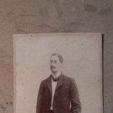 Fotografía antigua: FOTO ANTIGUA. ANTONIO GARCÍA. VALENCIA. SUEGRO DE JOAQUÍN SOROLLA Y BASTIDA.. Lote 77933187