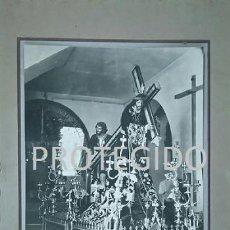 Fotografía antigua: ANTIGUA FOTOGRAFIA DEL PASO DE NUESTRO PADRE JESUS DE ESTEPA SEVILLA. Lote 78367253