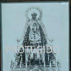 Fotografía antigua: ANTIGUA FOTOGRAFIA DE NUESTRA SEÑORA DE REGLA VENERADA EN SU SANTUARIO DE CHIPIONA CADIZ. Lote 78368369