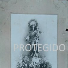 Fotografía antigua: ANTIGUA FOTOGRAFIA DE MARIA AUXILIADORA DE RONDA MALAGA 1921. Lote 78370589