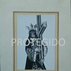 Fotografía antigua: NUESTRO PADRE JESUS NAZARENO QUE SE VENERA EN LA PARROQUIA DE SAN SEBASTIAN DE ESTEPA SEVILLA. Lote 79568077