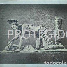 Fotografía antigua: ANTIGUA FOTOGRAFIA DEL SEÑOR DEL MAYOR DOLOR DE ANTEQUERA MALAGA FINALES DEL XIX . Lote 79574293