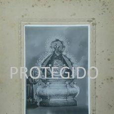 Fotografía antigua: ANTIGUA FOTOGRAFIA DE NUESTRA SEÑORA DE LA CABEZA DE SIERRA MORENA ANDUJAR JAEN. Lote 241808690