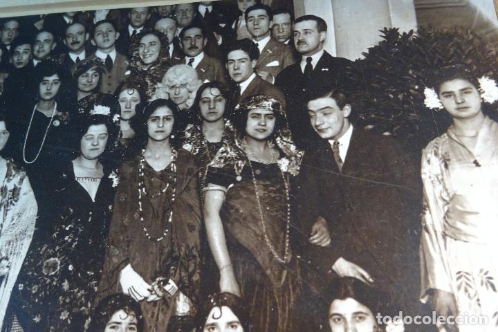 Fotografía antigua: GRAN FOTOGRAFÍA DE FIESTA DE DISFRACES O CARNAVAL - TRAJES CABARET, FLAMENCA, ETC.,ETC... - AÑOS 40 - Foto 5 - 80804027