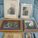 Fotografía antigua: LOTE 6 FOTOGRAFIAS ANTIGUAS 1900. Lote 81016284