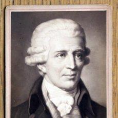 Fotografía antigua - COMPOSITOR JOSEPH HAYDN. TIPO CABINET, 16,8 X 11 CM. - 81138392