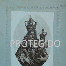 Fotografía antigua: ANTIGUA FOTOGRAFIA DE NUESTRA SEÑORA DE ARACELI PATRONA DE LUCENA CORDOBA. Lote 81232420