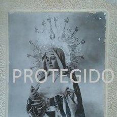 Fotografía antigua: ANTIGUA FOTOGRAFIA DE NUESTRA SEÑORA DE LA SOLEDAD DE CASTILLEJA DE LA CUESTA SEVILLA. Lote 82125080