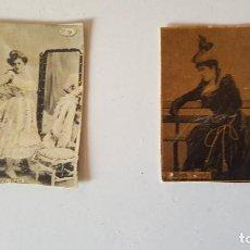 Fotografía antigua: DESPUES DEL BAILE - JOSEFINA DANLEY (EXPOSICION UNIVERSAL PARIS 1900). Lote 82205204