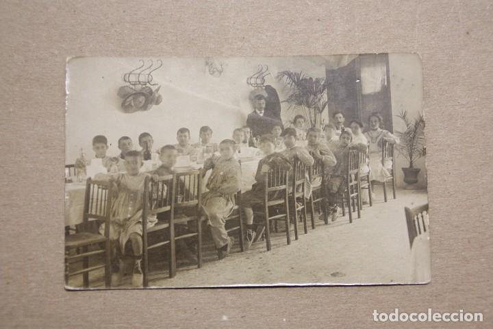 ASILO DURAN BARCELONA. FOTOGRAFIA 14 X 9 EN SOPORTE TARJETA POSTAL. SIN CIRCULAR (Fotografía Antigua - Albúmina)