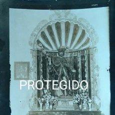 Fotografía antigua: ANTIGUA FOTOGRAFIA DE SAN ROQUE PATRON DE SABIÑAN ZARAGOZA. Lote 83055744