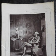 Fotografía antigua: DAUMIER - UN AMATEUR - GALERIE CONTEMPORAINE, LITTÉRAIRE, ARTISTIQUE - FOTOGRAFÍA GOUPIL ET C.. Lote 84530020