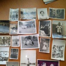 Fotografía antigua: LOTE 19 FOTOS FAMILIA VALENCIANA . VARIOS AÑOS. Lote 86554194