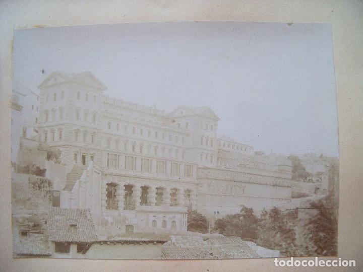 Fotografía antigua: MONTSERRAT.-RECUERDO DE LA SANTA CUEVA.-MANRESA.-A.M.D.G.-ALBUMINAS.-1880-1900. - Foto 2 - 87014812