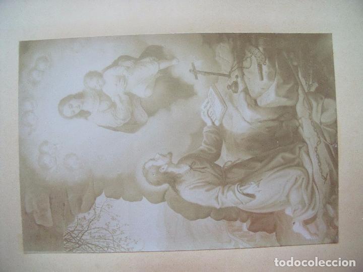 Fotografía antigua: MONTSERRAT.-RECUERDO DE LA SANTA CUEVA.-MANRESA.-A.M.D.G.-ALBUMINAS.-1880-1900. - Foto 3 - 87014812