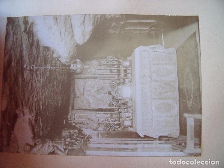Fotografía antigua: MONTSERRAT.-RECUERDO DE LA SANTA CUEVA.-MANRESA.-A.M.D.G.-ALBUMINAS.-1880-1900. - Foto 5 - 87014812