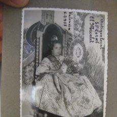 Fotografía antigua: FOTOGRAFIA ANTIGUA FALLERAS FALLAS VALENCIA EN LOCAL ANTIGUO CORAL EL MICALET 1955. Lote 87108400