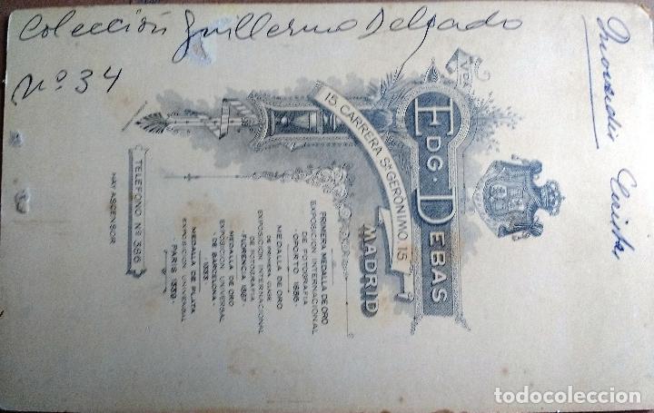 Fotografía antigua: FOTO CALVET HERMANOS, MADRID , TEATRO, OBRA QUO VADIS CERISTAS - Foto 2 - 89854248