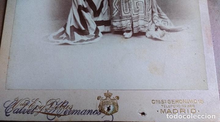 Fotografía antigua: FOTO CALVET HERMANOS, MADRID , TEATRO, OBRA QUO VADIS CERISTAS - Foto 3 - 89854248