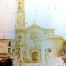 Fotografía antigua: IGLESIA RURAL. FOTOGRAFIA. ALBÚMINA. ESPAÑA. FIN SIGLO XIX- PRINCIPIO SIGLO XX. Lote 91466925