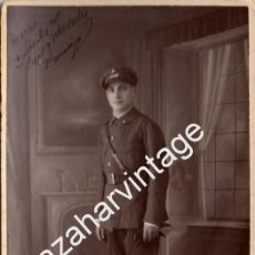 Fotografía antigua: TETUAN, 1932, MILITAR DE ARTILLERIA, FOT.ARBONA, CEUTA, 14X9 CMS. Lote 91921040