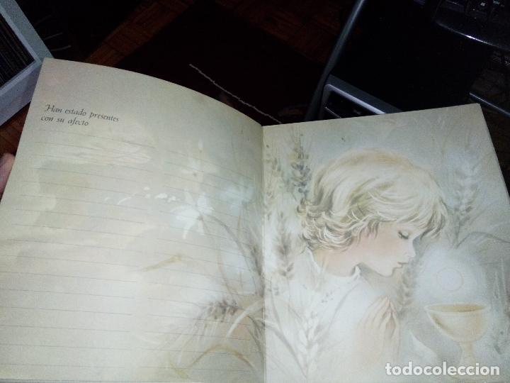 Fotografía antigua: Álbum primera comunión - Foto 6 - 26676943