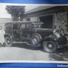Fotografía antigua: ANTIGUA FOTOGRAFÍA DE COCHE DE EPOCA - 12,5 X 17,5 - . Lote 91974885
