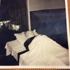 Fotografía antigua: ANTIGUA FOTOGRAFÍA POST MORTEM 9 X 9 CMTS. . Lote 93074885