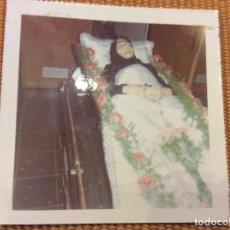 Fotografía antigua: ANTIGUA FOTOGRAFÍA POST MORTEM 6 X 6 CMTS. . Lote 93075045