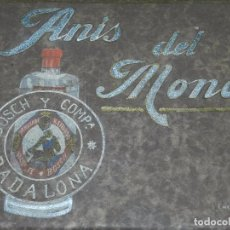 Fotografía antigua: (M) ESPECTACULAR CATALOGO FOTOGRAFICO DE LA FABRICA ANIS DEL MONO , FINALES S.XIX , BADALONA. Lote 93379680