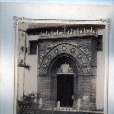 Fotografía antigua: Nº355 SEVILLA PUERTA IGLESIA STA PAULA J.E PUIG ESCUDILLERS 89 BARNA.ORIGINALES S XIX. Lote 94191220