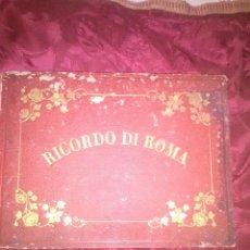Fotografía antigua: RICORDO DI ROMA FOTOGRAFIE DEI FRATELLI ALINARI DI FIRENZE,ALBUM CON 30 FOTOGRAFIAS. Lote 95638435