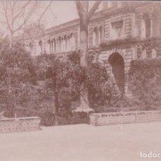 Fotografía antigua: FOTO FOTOGRAFIA ALBUMINA - EL ALCAZAR SEVILLA. Lote 96704095
